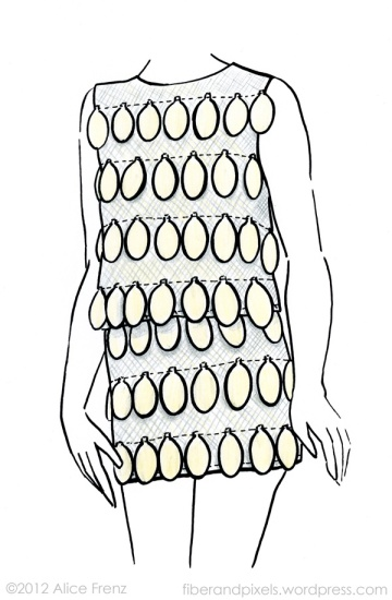 alice-frenz-sketch-of-stephen-sprouse-paillette-minidress