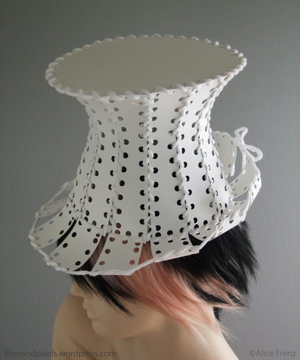 make a paper top hat