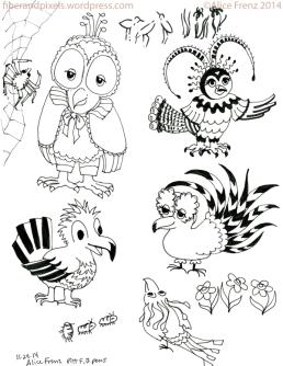 alice-frenz-pattern-motif-illustration-sketchbook-fancy-birds-pill-bugs-2014-11-24-002