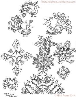 alice-frenz-pattern-motif-sketchbook-fancy-birds-peacock-star-cross-2014-11-24-001