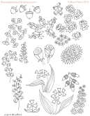 alice-frenz-pattern-motif-sketchbook-flowers-acorns-lily-of-the-valley-2014-11-20-004-006