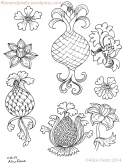 alice-frenz-pattern-motif-sketchbook-pineapple-flower-turnip-2014-11-23-003