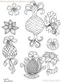 alice-frenz-pattern-motif-sketchbook-pineapple-flower-turnip-2014-11-23-003
