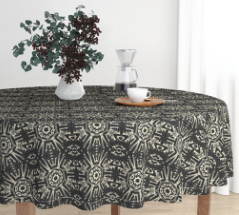 fitzgerald manse tablecloth alice frenz on roostery b