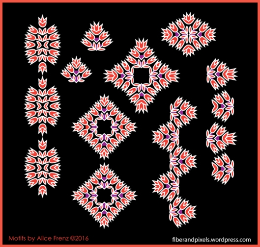 Boho-Borders-flower-arrows-detail-1-alice-frenz-600x572-100