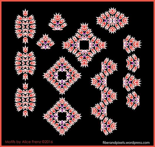 Boho-Borders-flower-arrows-detail-1-alice-frenz-600x572-100