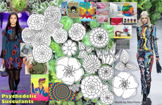 Op-and-Pop-Succulents-leaf-and-flower-motifs-and-mood-board-alice-frenz-750x485