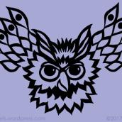 mountain-spirit-owl-alice-frenz-photoshop-repeat-pattern-design-600x400